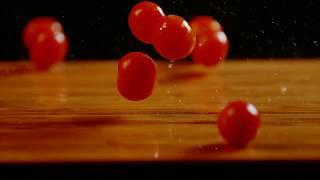 Water Splash Vegetables Slow Motion 4K (NRTC GROUP)