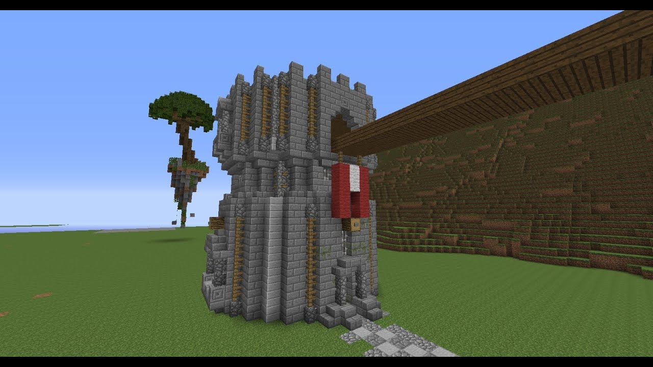 Home search results for minecraft how to build a castle tutorial