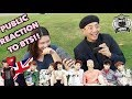 Public Reacts to BTS KPOP LONDON EDITION BTS ARMY WORLDWIDE