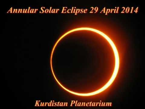 Annular Solar Eclipse 29 Apr 2014