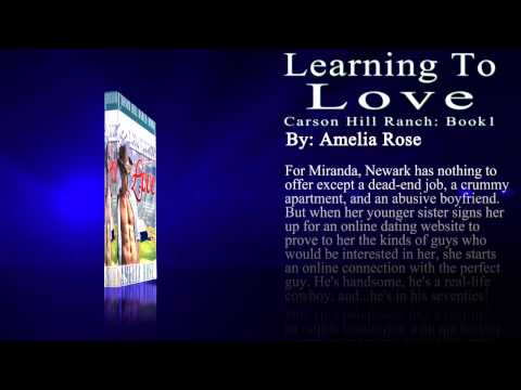 FREE Cowboy Romance Novel | Learning To Love by Amelia Rose