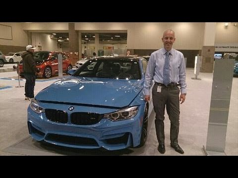 2016 Pacific Blue BMW M4 review  - The incredible 2016 M4 engine and more!