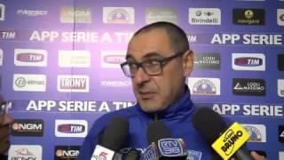 Empoli, Sarri: 'Frustrante perdere così'