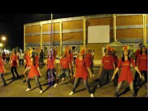 Flash Mob Espaço Corpo na Feirinha de Sete de Lagoas