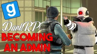 Becoming An Admin In Gmod DarkRP
