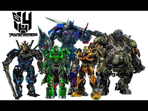 Transformers 4 : Age of Extinction - cast robots