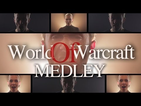 World of Warcraft Medley - Peter Hollens feat Evynne Hollens Acappella