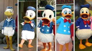 Evolution Of Donald Duck In Disney Theme Parks! DIStory Episode 4! Disney History!