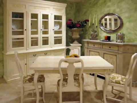 Fornari arredamenti stile provenzale youtube for Arredamenti provenzali