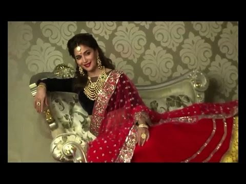 Madhuri shoots for a jewellery ad