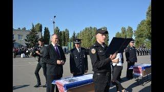 Першокурсники ХНУВС склали Присягу працівника поліції