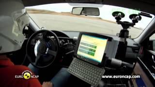 Skoda Rapid ESC test - Euro NCAP 2012