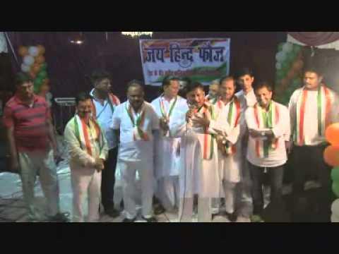 Ved Vrat Vajpai 15-August 2014 -- Jai Hind Fauj