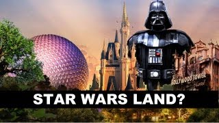 Star Wars Land At Walt Disney World's Hollywood Studios In