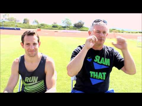 Renaud Lavillenie with coach World Record Holder Talking Head Position