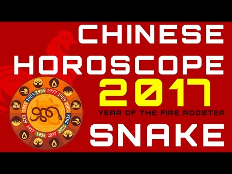 Snake 2017 Chinese Horoscope Predictions