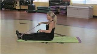 Abdominal Exercises : Resistance Band Exercises For