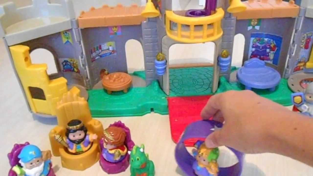 Castelo Little People  Fisher Price  YouTube