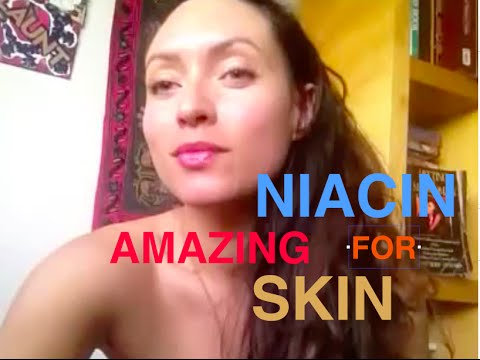 Niacin or vitamin B3 is amazing for your skin!!