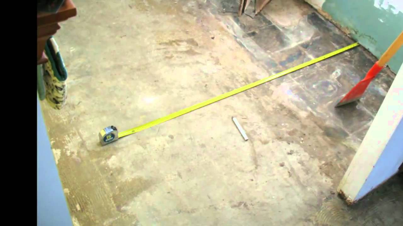 How clean should your concrete foundation be tile for How do i clean concrete