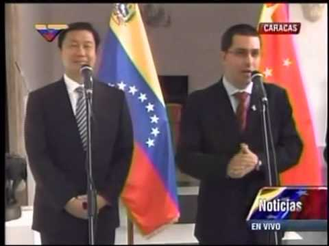 Arreaza: Cooperacin con China permite satisfacer necesidades de nuestro pueblo