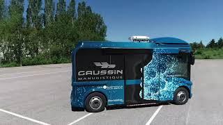 e-AB « electric-Autonomous Bus » 100% électrique 100% autonome