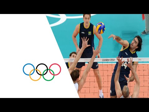 Volleyball Men's Preliminary - Pool B - Brazil v United States Replay - London 2012 Olympic Games