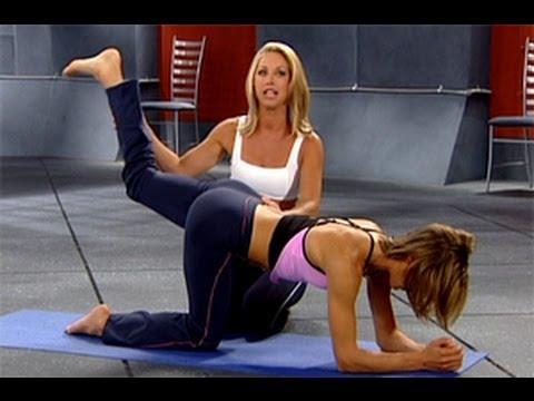 Denise Austin: Legs & Buns Workout Level 1 - YouTube