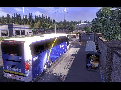 Euro Truck Simulator 2 : Viagem de ônibus # 2
