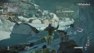 COD Ghosts: Whiteout Iceberg Wall Breach / Glitch (PATCHED
