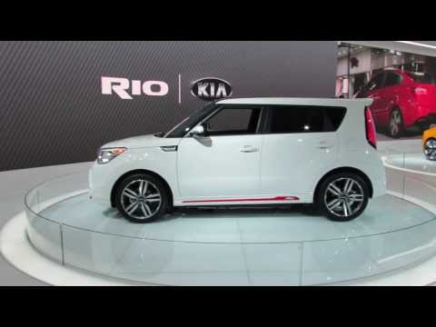 2015 KIA Soul Red Zone Special Edition At The 2014 NAIAS Auto Show