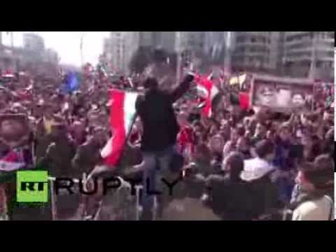 Syria: Thousands attend pro-Assad rally in Latakia