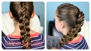 Stacked Twist Ponytail | Cute Girls Hairstyles