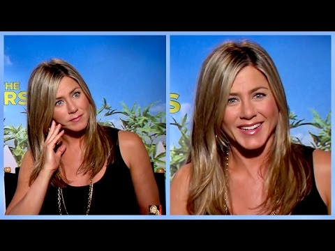 Jennifer Aniston and her new stripping skills