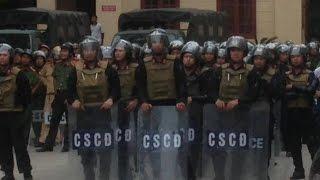 Kinh hoàng cảnh hàng ngàn công an bày binh bố trận đàn áp ngư dân tại Nghệ An [108Tv]