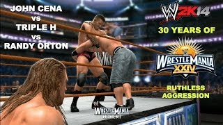 WWE 2K14: 30 Years Of Wrestlemania (EP33) Triple H Vs