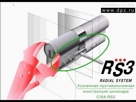 Взлом замка EURO 252 с цилиндром KALE методом бампинга. Бампинг изнутри. Взлом