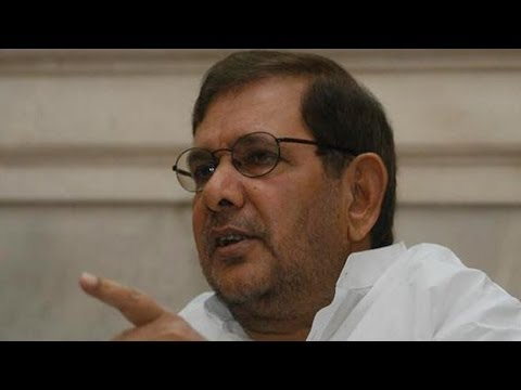 Sharad Yadav on corruption