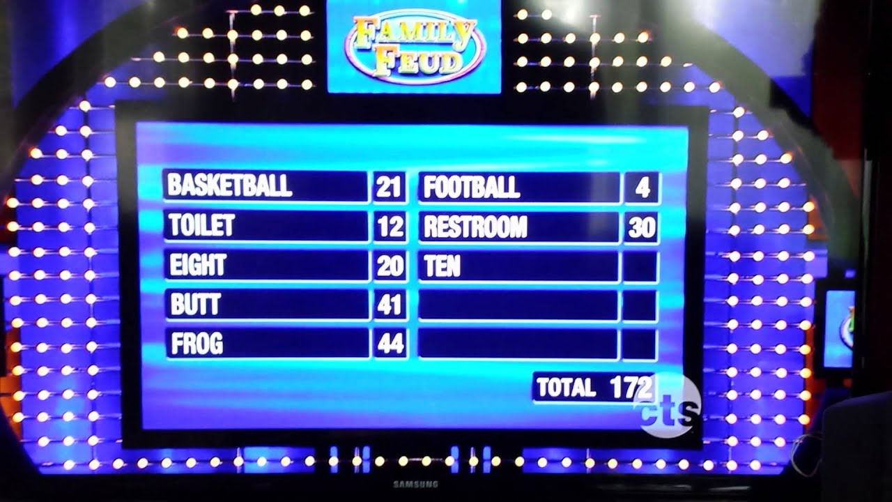 family feud money