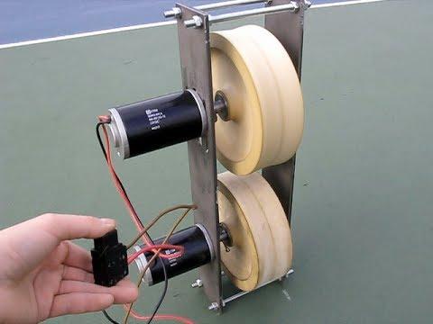 diy tennis machine