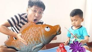 Trò Chơi Bé Bắp Câu Con Cá Chép và Con Rùa Đồ Chơi Trẻ Em ♥ Bé Bắp - CreativeKids ♥