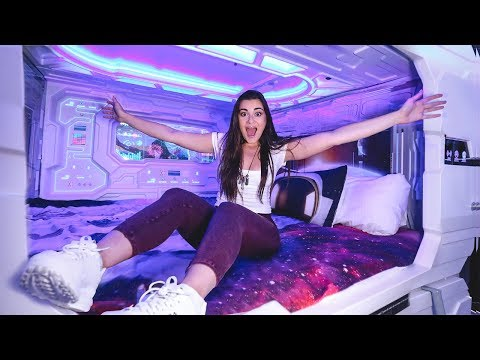 Galaxy Themed Capsule Hotel