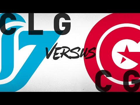 CLG vs. CG - Week 9 Day 1 | NA LCS Summer Split | Counter Logic Gaming vs. Clutch Gaming (2018)