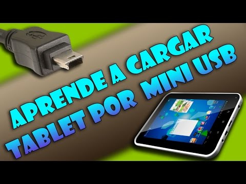 Cargar tablet china por mini-USB - Easy Home Tablet 7 (Tutorial útil)