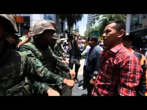 Anti-coup protest Bangkok