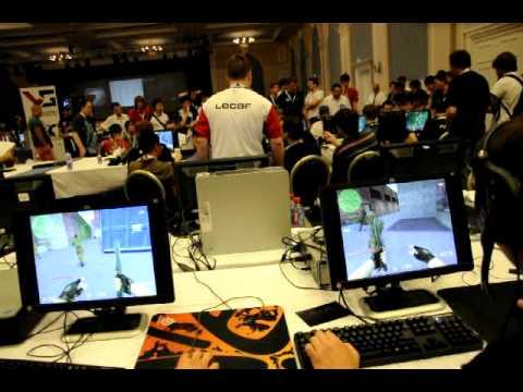 Малой играет на ESWC 2010