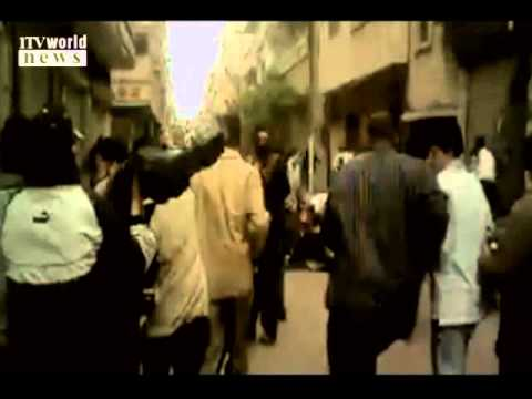 riots in syria protest 2011: one syrian demonstrator killed and several others injured by police