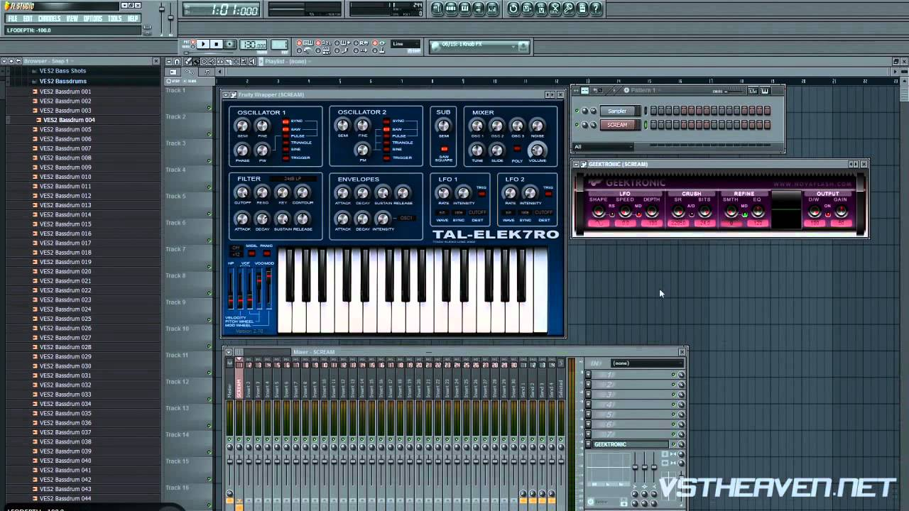 how to make bass in fl studio