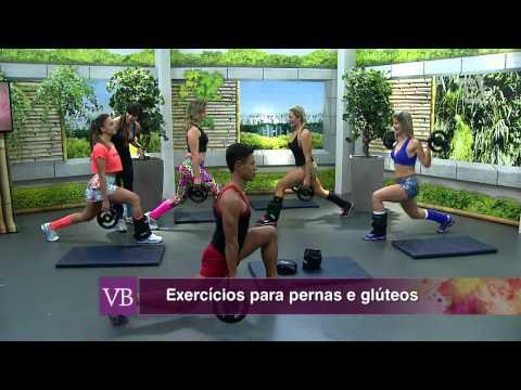 Você Bonita - Exercícios para Pernas e Glúteos (13/08/14)