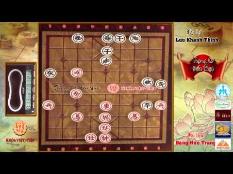 Trạng Cờ Đất Việt 2015 - Vòng 1-8 - Lưu Khánh Thịnh vs Đặng Hữu Trang